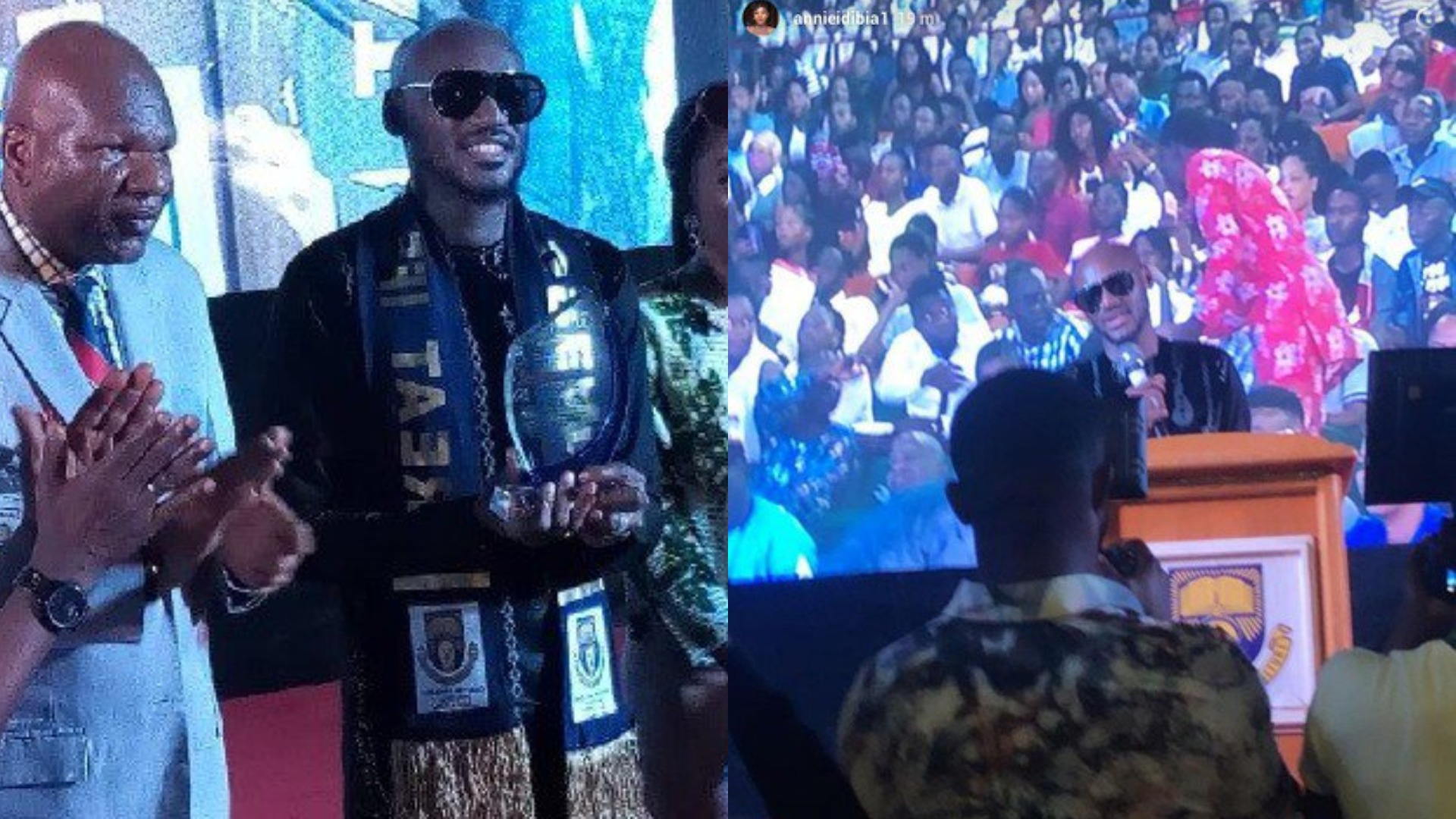 Image result for 2baba gets award at oau