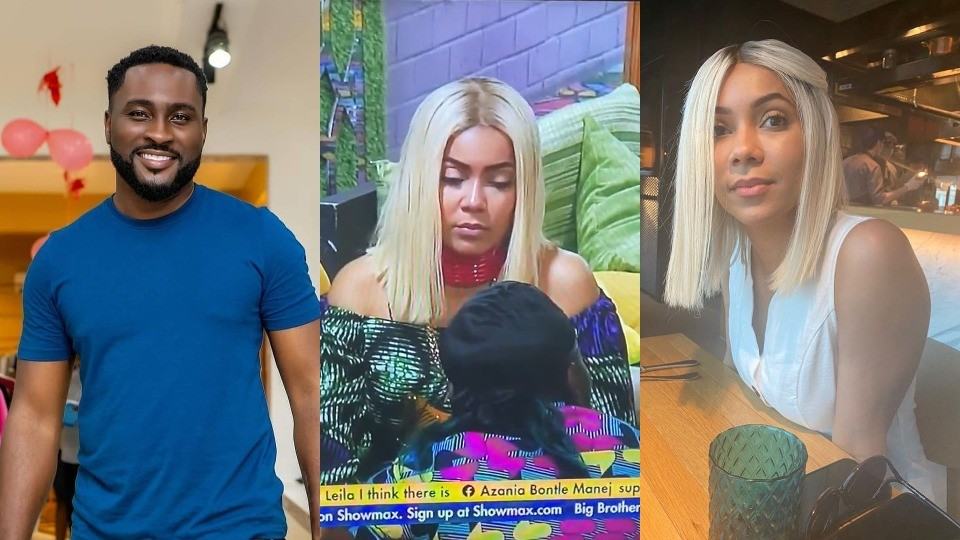 BBNaija 2021: Moment Maria asked Pere to take off his mic, and she took hers off (Video) - Lucipost