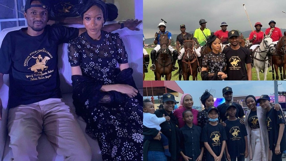 Yusuf Buhari and Zahra Bayero's pre-wedding festivities begin with a Special  Polo Tournament (Photos)   Lucipost